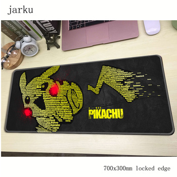 Pokemons mouse pad gamer 700x300mm notbook mouse mat large gaming mousepad large cheapest pad mouse PC desk padmouse 2
