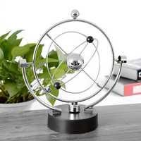 Kinetic Orbital Revolving Gadget Perpetual Motion Desk Office Decor Art Toy Gift Desk Set