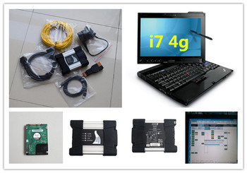 for bmw diagnostic icom NEXT with software ista expert mode 500gb hdd with laptop x201t i7 4g full cables ready to use