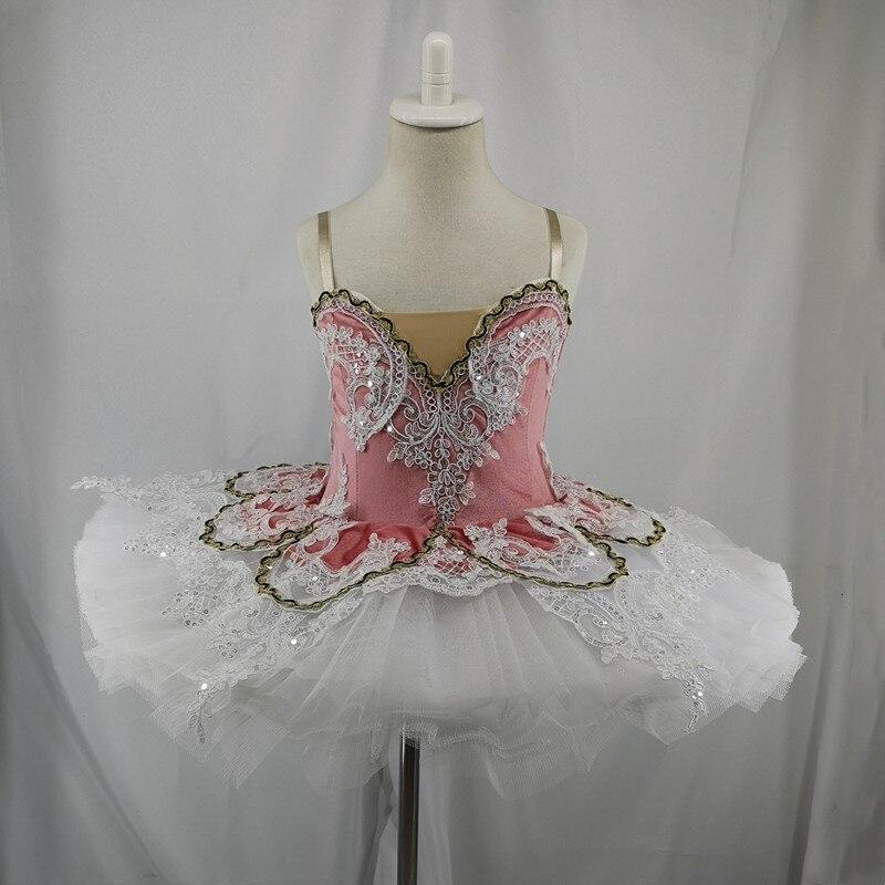 Pink professional ballet tutu child kids girls adulto ballet dance dress girls women ballet costume kids