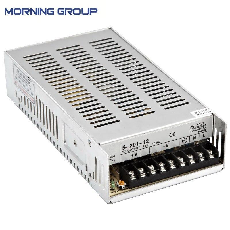 S-201 215*115*50mm 200W dc output ite power supply 12V 24V 36V 48V PSU ite it8718f s hxs