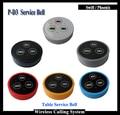 5pcs Cafe Restaurant service bell for waiter calling system