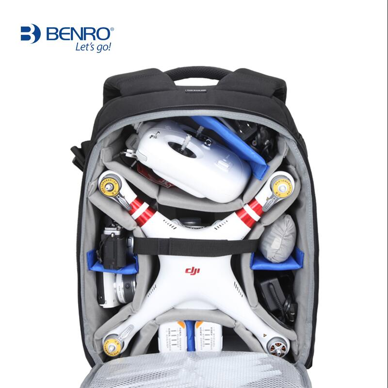 Benro 250N 350N DSLR Camera Bag High Quality Backpack Professional Anti theft Outdoor Men Women Backpack For Canon Nikon camera in Camera Video Bags from Consumer Electronics