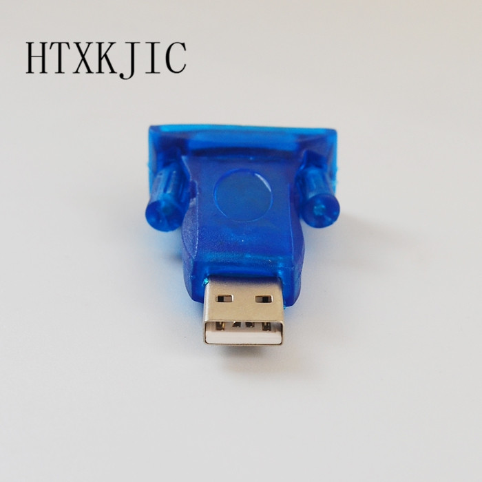 1pcs  HL-340 USB to RS232 COM Port Serial PDA 9 pin DB9 Adapter support ForWindows7-64 beautiful gift new usb to rs232 db9 serial com convertor adapter support plc drop shipping kxl0728