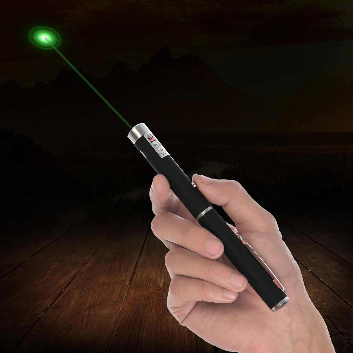 Bolígrafo láser verde de 5MW y 650nm, bolígrafo láser de haz de luz fuerte y Visible en 3 colores, bolígrafo láser multifunción B037