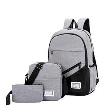 VASSARETTE Women Cute Backpack Canvas Laptop 15.6 17 Inch Backpack For Women Men School Bag Female Male Travel Bags цены онлайн