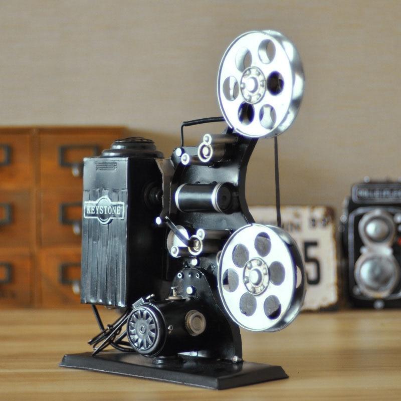 Retro iron handmade vintage movie projector handmade vintage model handmade home decor model in - Domestication home decor model ...