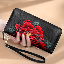 Fashion Flower Animals Printing Wallets Women Genuine Leather Lady Clutch Purse Long Wristlet Phone Coin Purse Phone Bag Wallet genuine leather new fashion women coin purse long clutch bags wallets wristlet leather zipper change cowhide handbag candy color
