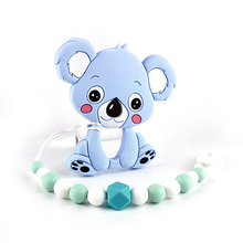 TYRY.HU Baby Silicone Teether Pacific Chain Clip BPA Free Silicone Teether Baby Shower Gift Gift Teething մանյակ Silicone beads