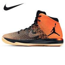 Nike Air Jordan XXXI AJ31 Joe 31 zapatos de baloncesto de los hombres  zapatillas, blanco y Negro roto Wisconsin deporte, 845037 .
