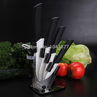 6 Piece A Set Zirconia Kitchen Ceramic Knife Tool Set 3 4 5 6 Inch