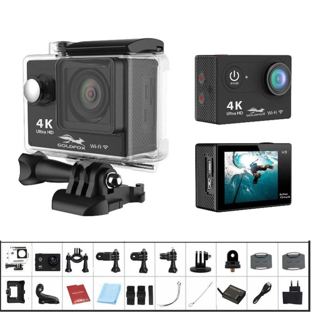 Action camera Ultra HD 4K WiFi 2.0 170D underwater waterproof Helmet Cam camera Sport cam
