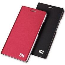Dành cho Xiaomi Mi4C Ốp Lưng Điện Thoại Cao Cấp Mỏng Phong Cách Khe Cắm Thẻ PU Lật Bao da Cho Xiaomi Mi 4C/4i Bao da