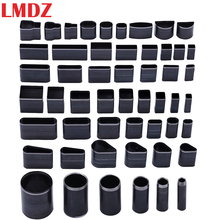 LMDZ 52Pcs Shaped Style Hole Hollow Punch Cutter Set Punching Tool for Leather Belt Phone Holster Leather Craft DIY Tool wholesale 6 pcs set steel hollow punch set diy tool gasket belt hole punching leather