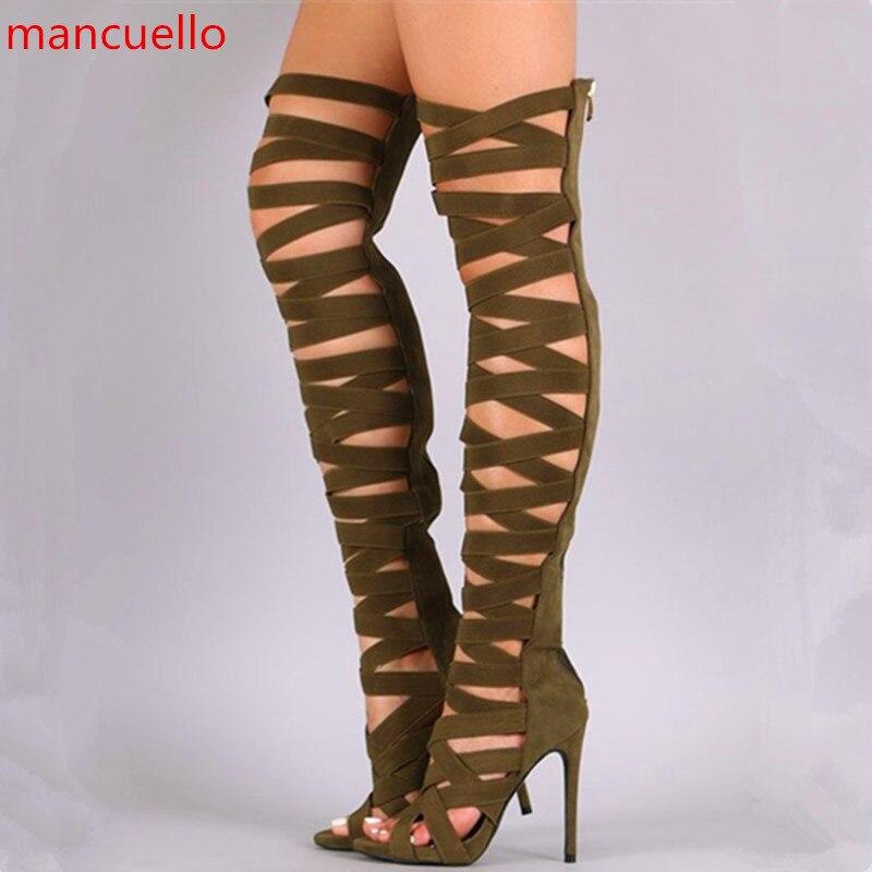 Online Get Cheap Thigh High Strap Boots -Aliexpress.com | Alibaba ...