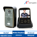 2.4GHz Wireless Video Intercom Wireless Video Door Phone With 0.3MP Camera Support Movement Detect,IR Infrared,Take Photo