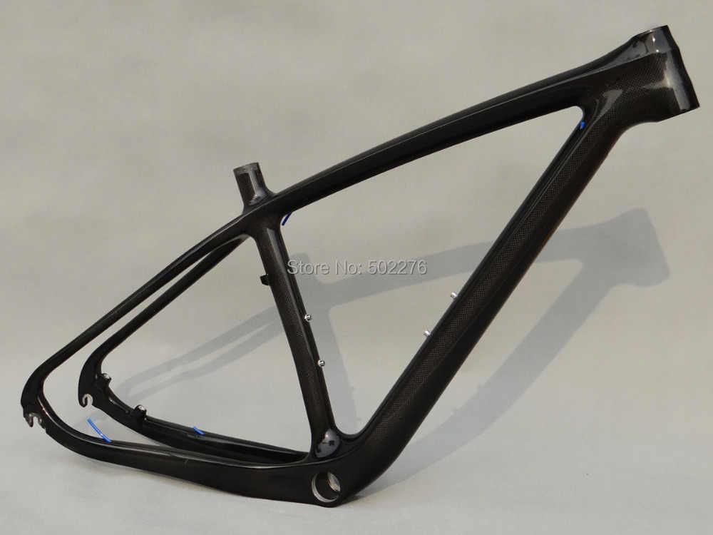 "3 K carbone brillant cyclisme 29ER vtt VTT cadre pour Bsa vélo cadre taille 15.5 ""17.5"" 19"""