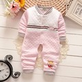 BibiCola 2017 spring autumn new baby boys girls clothes soft cotton kids one pieces Jumpsuits newborn infant girl boys clothes