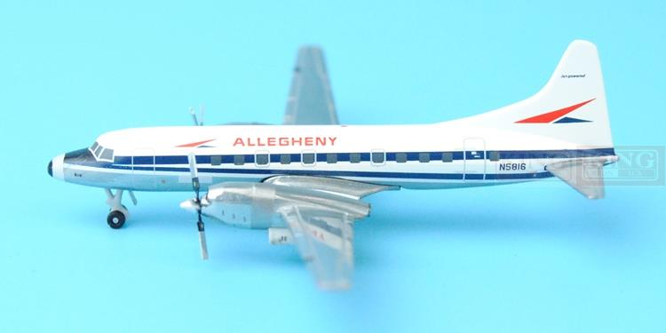 GJUSA1261 GeminiJets United States loyal aviation N5816 1:400 CV-580 commercial jetliners plane model hobby
