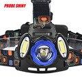 15000Lm alta Qualidade 3x T6 XML Faróis LED Recarregável Farol 18650 Lâmpada Lanterna de Cabeça