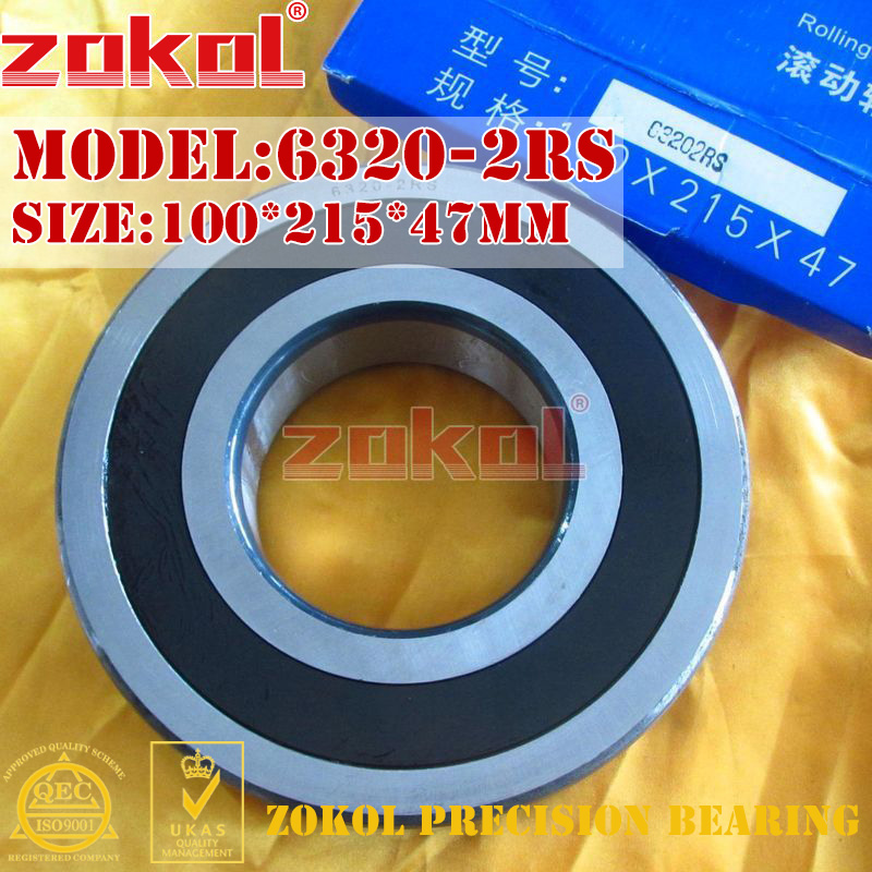 ZOKOL 6320RS rulman 6320 2RS RS 180320 6320-2RS Derin Groove rulman 100*215*47mmZOKOL 6320RS rulman 6320 2RS RS 180320 6320-2RS Derin Groove rulman 100*215*47mm