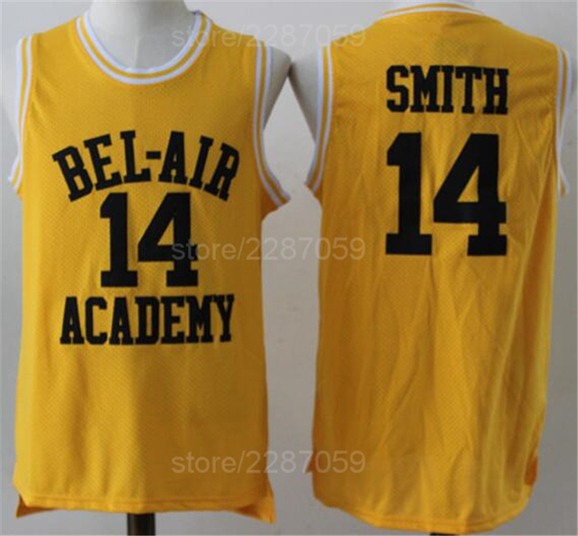 Ediwallen Movie 14 Will Smith Jersey Men Basketball OF The Fresh Prince  Jerseys Clothes BEL-AIR BEL AIR Academy (TV Sitcom) 656355007