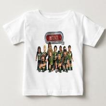 Metegol printing summer boy clothing challenge game short sleeved blouse children football T-shirt cotton breathable T-shirt MJ hoyle t the challenge