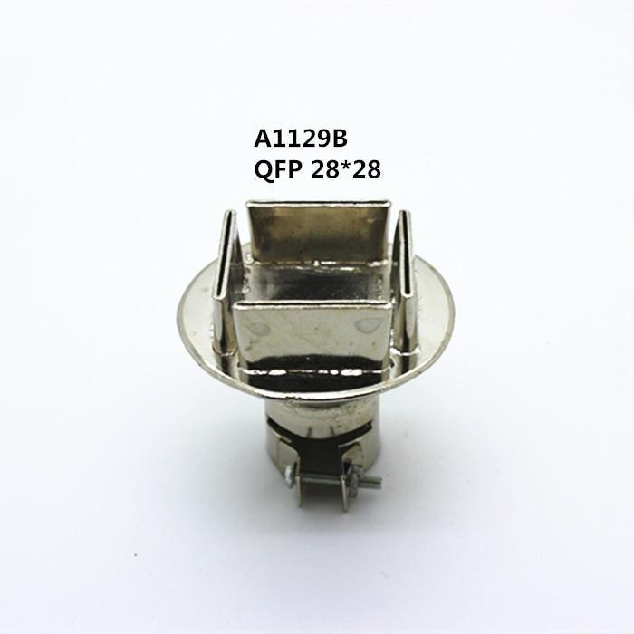 1/PCS QUICK ATTEN SAIKE Universal 850/850A/852/852D/852D+ Series Hot air gun/BGA nozzle A1125/A1126/A1127/A1128/A1129 A1129 электрический паяльник 849 d saike 2 1 220 110 saike 852d 852d