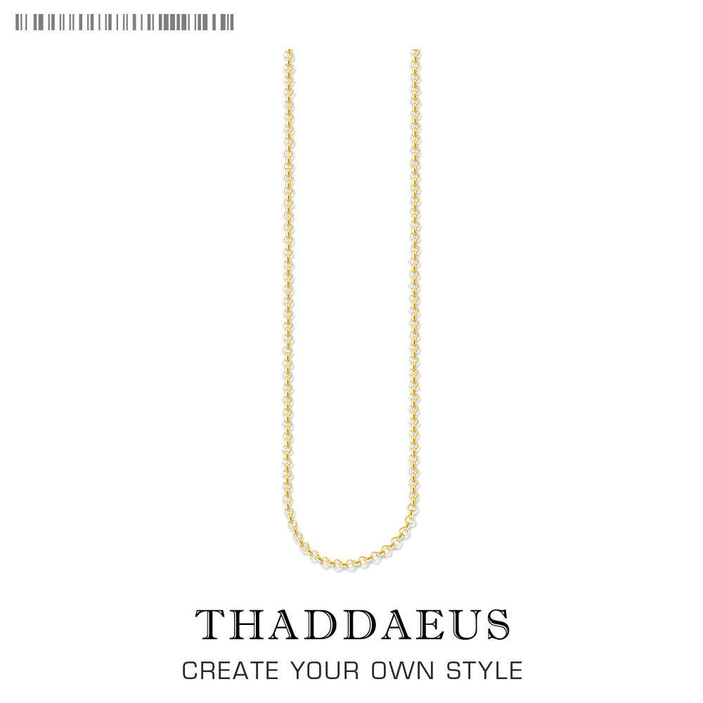 Round Belcher Chain Necklace,2017 Brand New Ts Strand Fashion Jewelry Thomas Style Gold  Bijoux Gift For Men Women