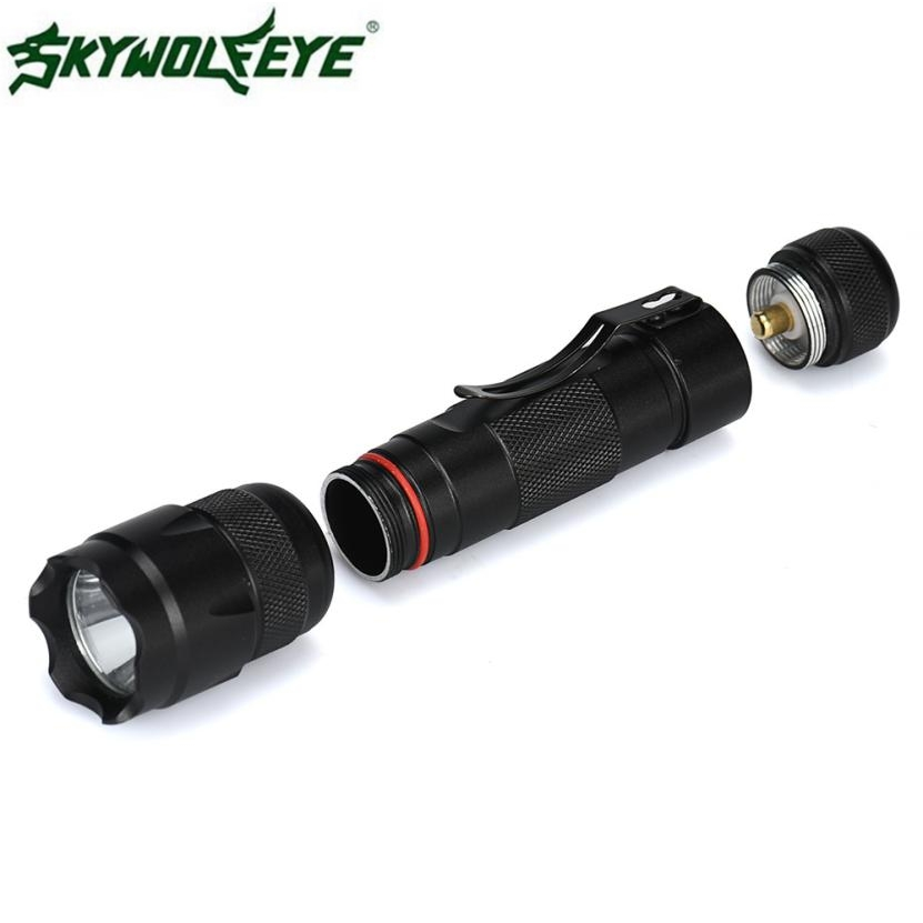 DC 22 Shining Hot Selling Drop Shipping 5000Lm Cree XML T6 LED Tactical Police Flashlight Torch Lamp Light 18650 5 Modes