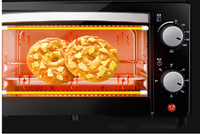 12L multi function oven baking cake double layer Egg pizza maker double heating chips fry nuggets mozzarella stick fish machine