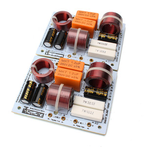 Image 2 - LEORY nueva llegada L 380C 2 unids/lote altavoz 3 vías Hi Fi Audio divisor de frecuencia 3 Unidad filtros de cruce 180W 85X 112mm