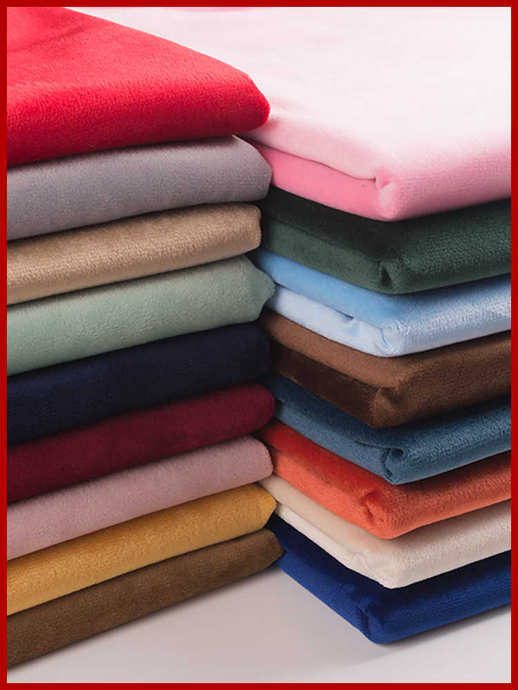 50*155cm Emerald Green Fleece Fabric Tilda Plush Cloth for Stuff Toys Dolls Sewing Knitted Velvet Loop Fabrics 350g/m