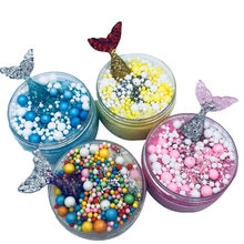 Mermaid Mixing Cloud Slime Squishy Putty Scented Stress Kids Crystal Clay Toy 3.26(China)