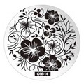 Hive Flower Pattern etc 60 Design Plate OM 1-60 Series Nail Art Image Konad Print Stamp Stamping Manicure Template