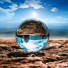 Фон для фотосъемки Стекло хрустальный шар 80/100/110 мм Сфера Фотография реквизит для съемки линзы прозрачные Круглые Искусственные декором в виде шариков, подарок
