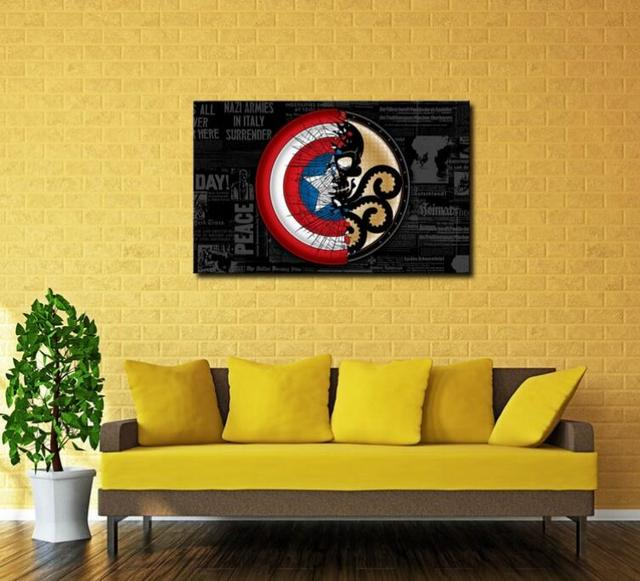 Fantastic Marvel Wall Art Composition - Wall Art Design ...
