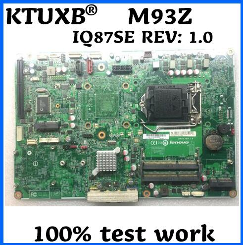 IQ87SE REV 1 0 for Lenovo Thinkcentre M93Z all in one computer motherboard FRU 00KT272 00KT293