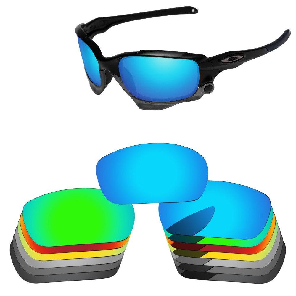 PapaViva POLARIZADA Lentes de Reposição para Authentic Jaqueta Jawbone Corrida de Óculos De Sol 100% Proteção UVA & UVB-Várias Opções