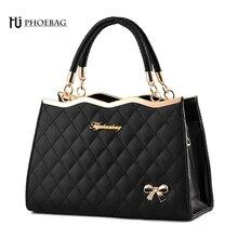 HJPHOEBAG mode frauen schultertasche handtasche plaid hohe qualität freizeit umhängetasche dame umhängetasche bolso mujer moda Z-11