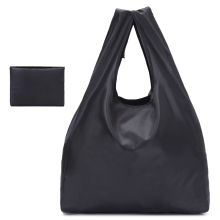 New ECO Polyester Reusable Tote Foldable Shopping Bag Women Men Package Buy vegetables traveling