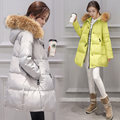 Winter maternity Women's Fashion Down Warm CoatsFashion Long sleeve Hooded Jackets Slim Style Casual Parka Coat WM08