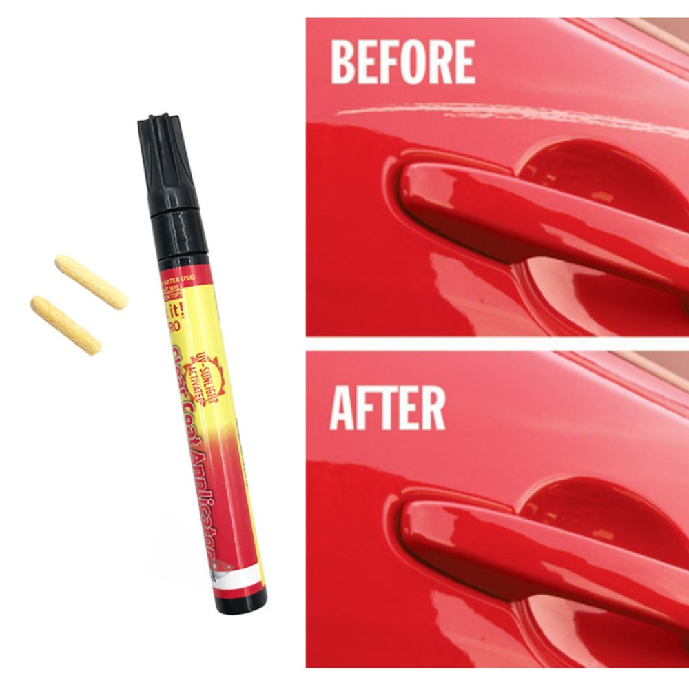 US $0 7 22% OFF|Universal Magic Fix Car Scratches Repair Remover Pen Clear  Coat Applicator Auto Vehicle Painting Pen Car Styling Marker Tool-in Spot
