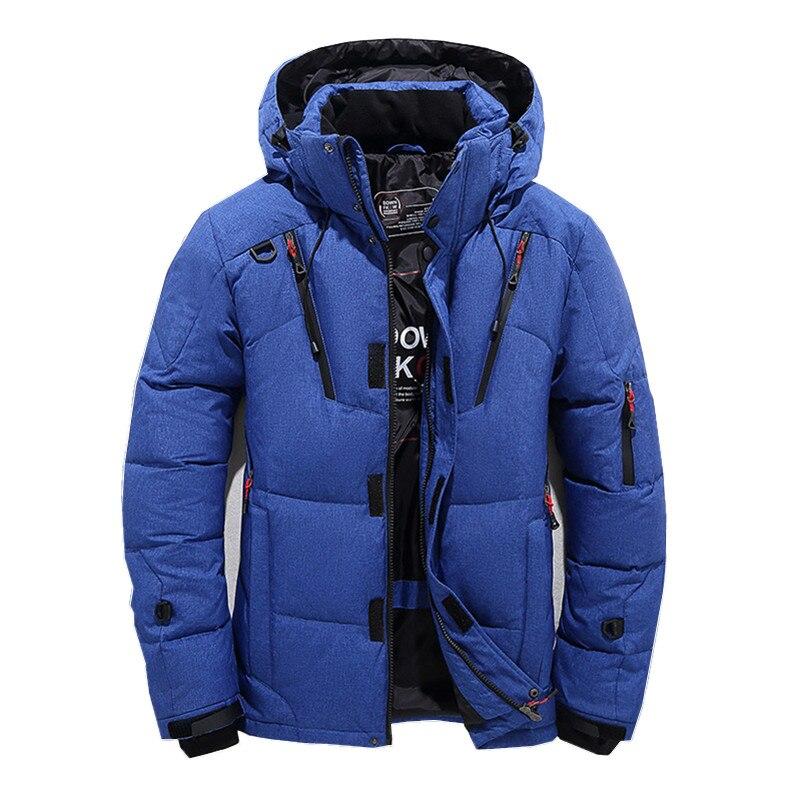 2018 зимняя куртка для мужчин новая мода толстые с капюшоном меховой воротник парка пальто для будущих мам повседневное мягкий