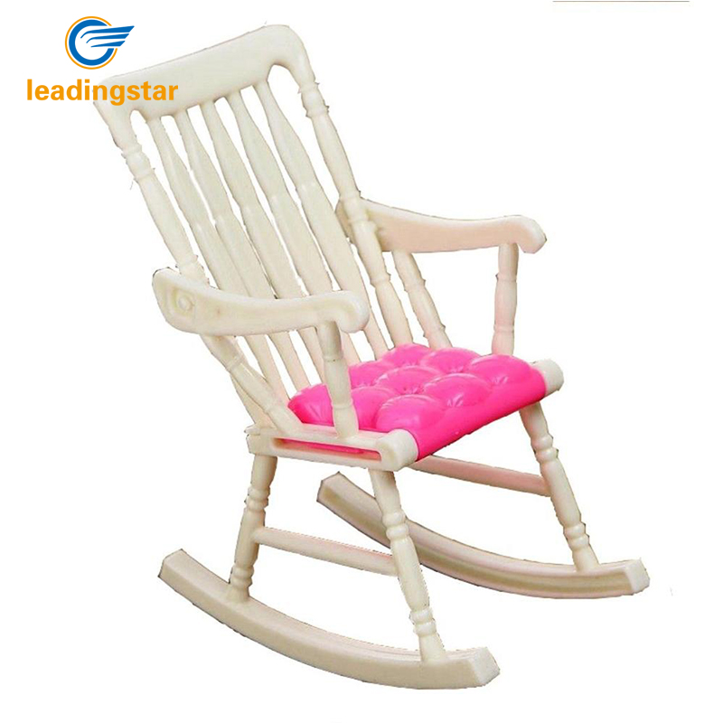LeadingStar Children Toy Cute Dollhouse Nursery Furniture Rocking Chair Random Color zk15