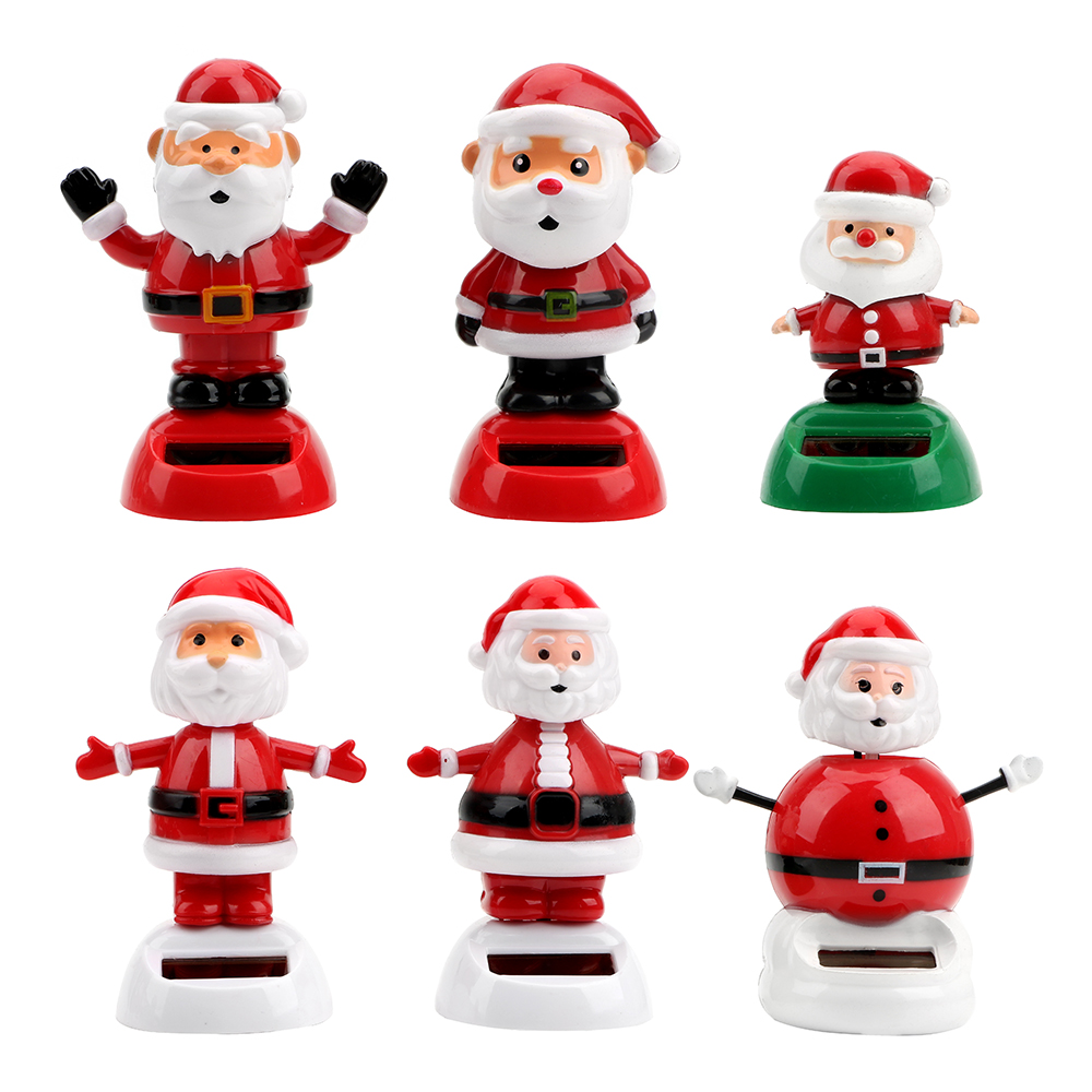 Aliexpress.com : Buy Santa Claus Car Ornament Auto Accessories Christmas Style Swinging Car