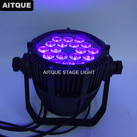 12 los Dj licht high power par led 18x18 watt rgbwa uv led leuchten flutlicht par64 uplight wasserdicht-in Bühnen-Lichteffekt aus Licht & Beleuchtung bei
