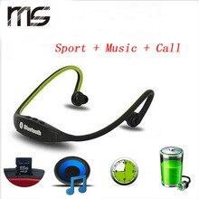 Esporte Sweat-proof Fones de Ouvido Bluetooth Estéreo com Rádio FM Cartão De TF