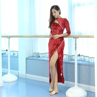 Newest Woman Velvet Belly Dance Costume Bellydance Dress For Women Belly Dance Wear S M L