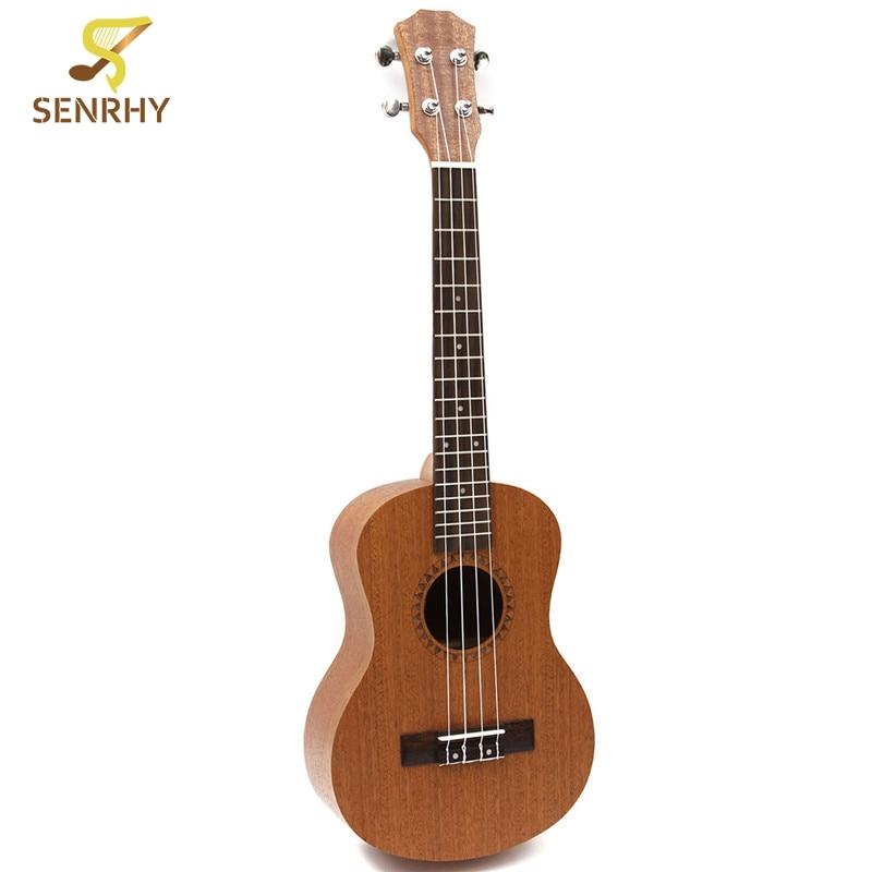 Professionnel 26 pouces ukulélé Uke Hawaii guitare acoustique Sapele 18 Fret bois Ukelele Instruments de musique pour un grand cadeau